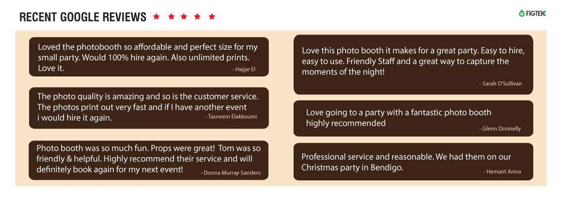 hire booth review