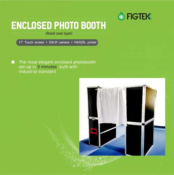 Enclosed Photo Booth (Road Case Type)