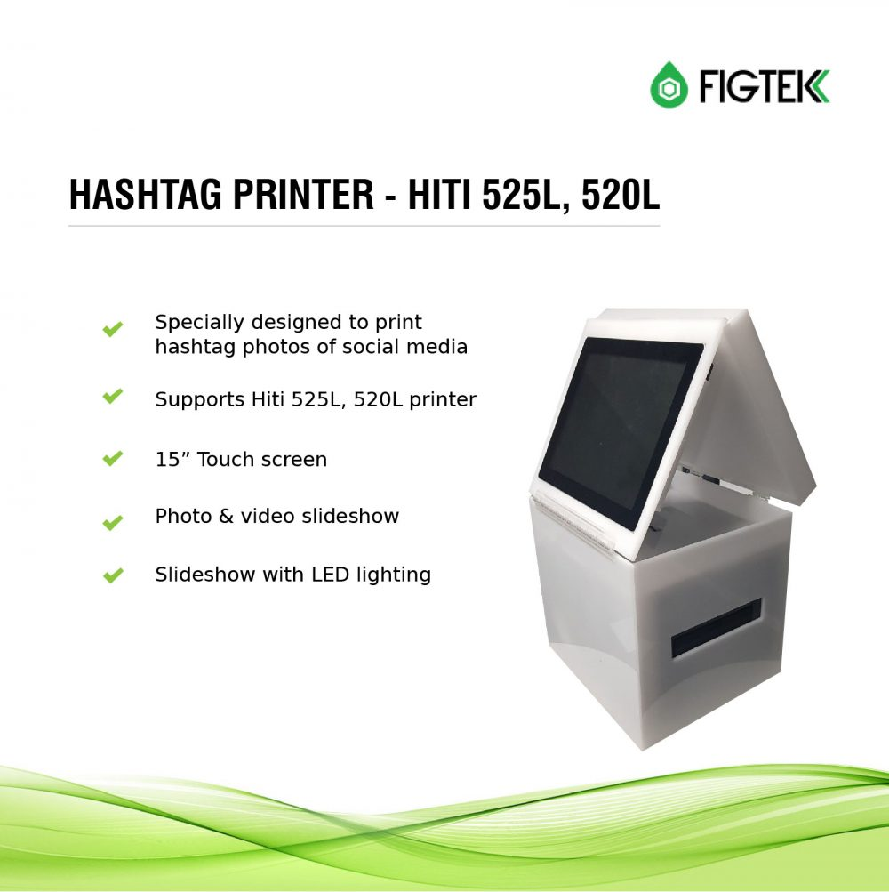 Hashtag Printer - Hiti 525l, 520l