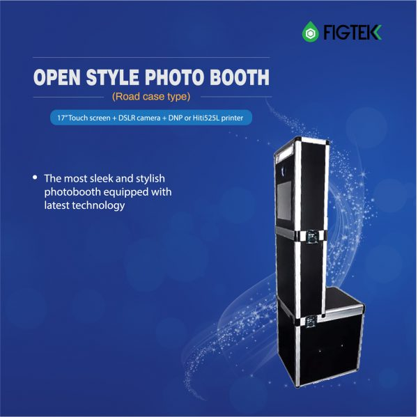 Open Style Photo Booth (Road Case Type) Sale